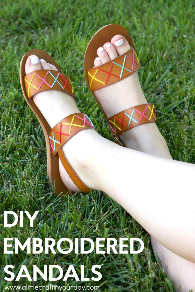 DIY_Embroidered_Sandals