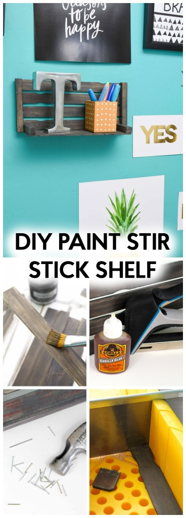 DIY_Paint_stir_stick_shelf