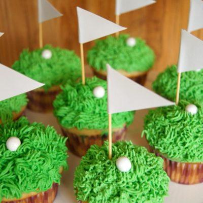 DIY Golf Cupcakes thumbnail