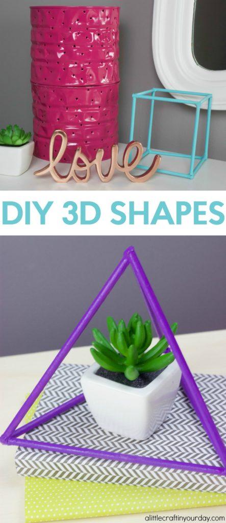DIY_3D_Geometric_Shapes