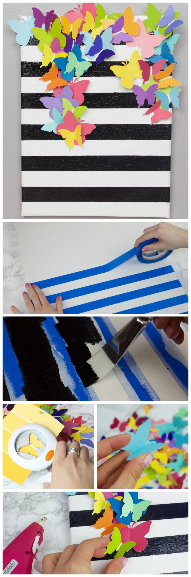DIY_Striped_Butterfly_Canvas