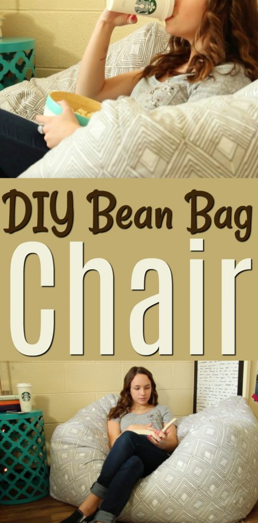 Cool Diy Bean Bag Chair A Little Craft In Your Day Pabps2019 Chair Design Images Pabps2019Com