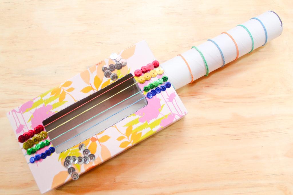 Make-a-Tissue-Box-Guitar-Step-6
