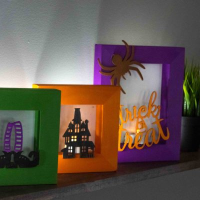 Halloween Shadow Box Luminaries thumbnail