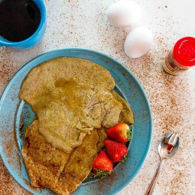 5 Ingredient Protein Pancakes thumbnail