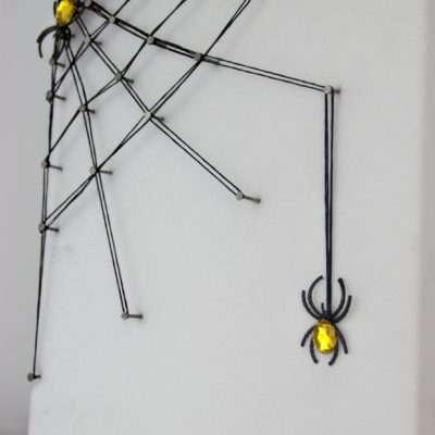 DIY String Art Spider Web thumbnail