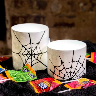 DIY Halloween Luminaries thumbnail