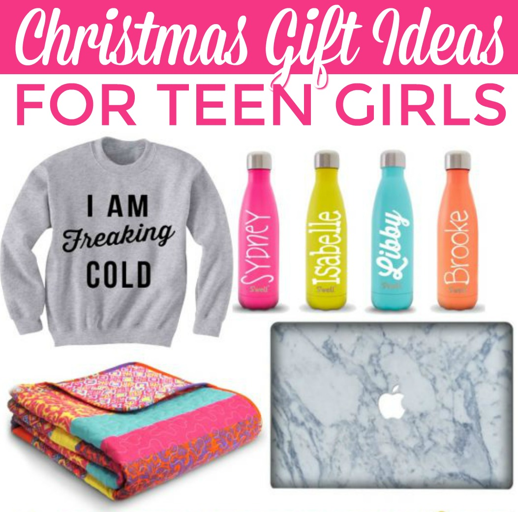 Christmas Gift Ideas for Teen Girls - A Little Craft In ...
