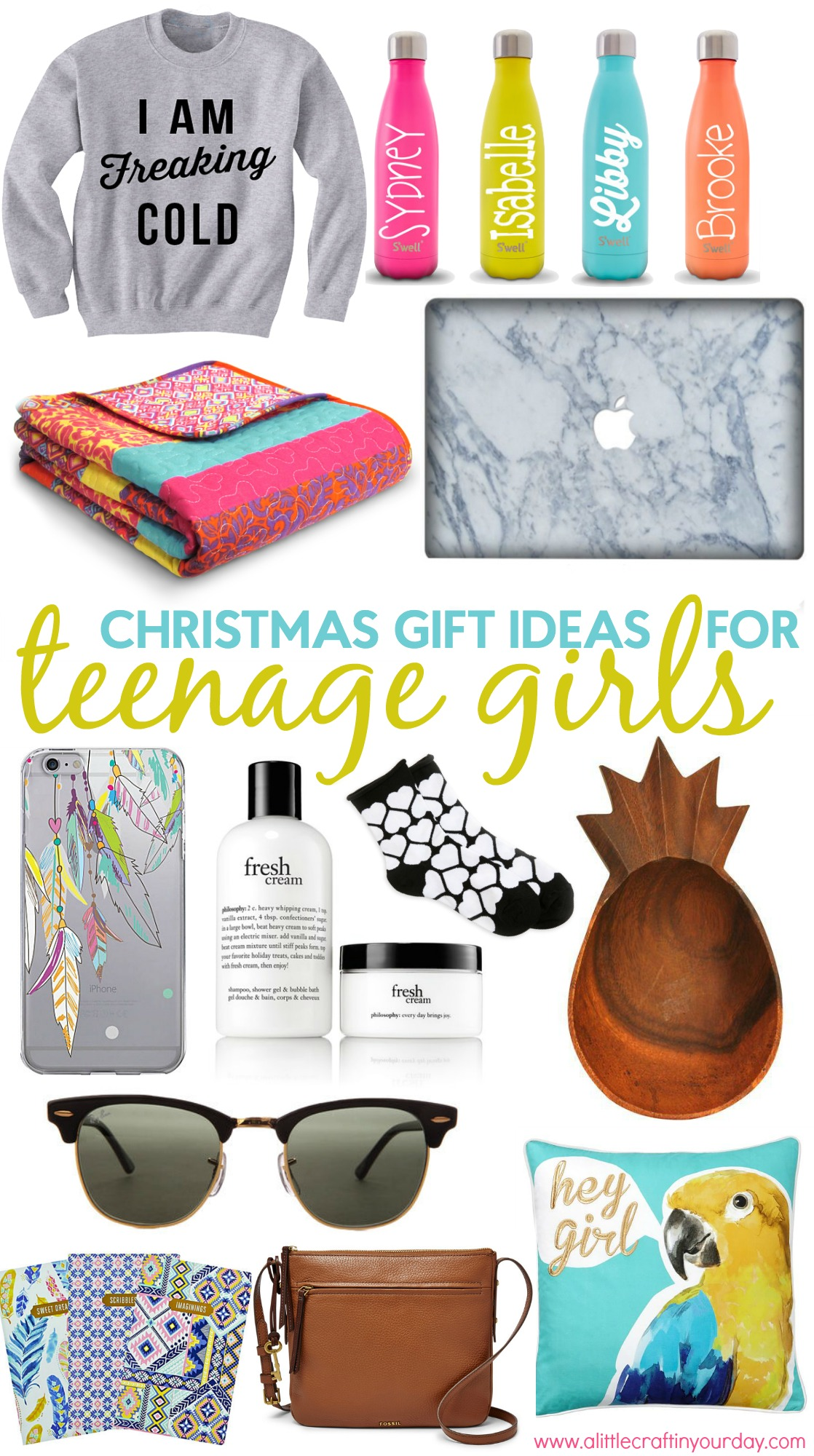 Christmas Gift Ideas For Teen Girls - A Little Craft In Your Day-5723