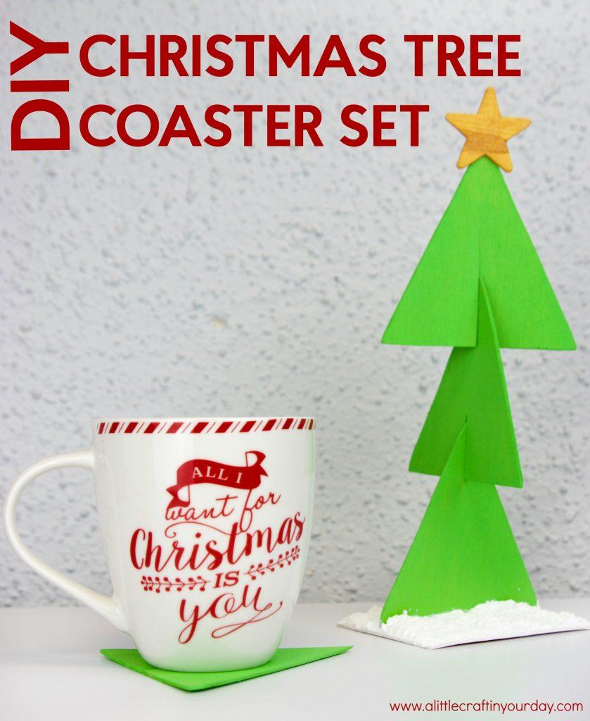 diy_christmas_tree_coaster_set