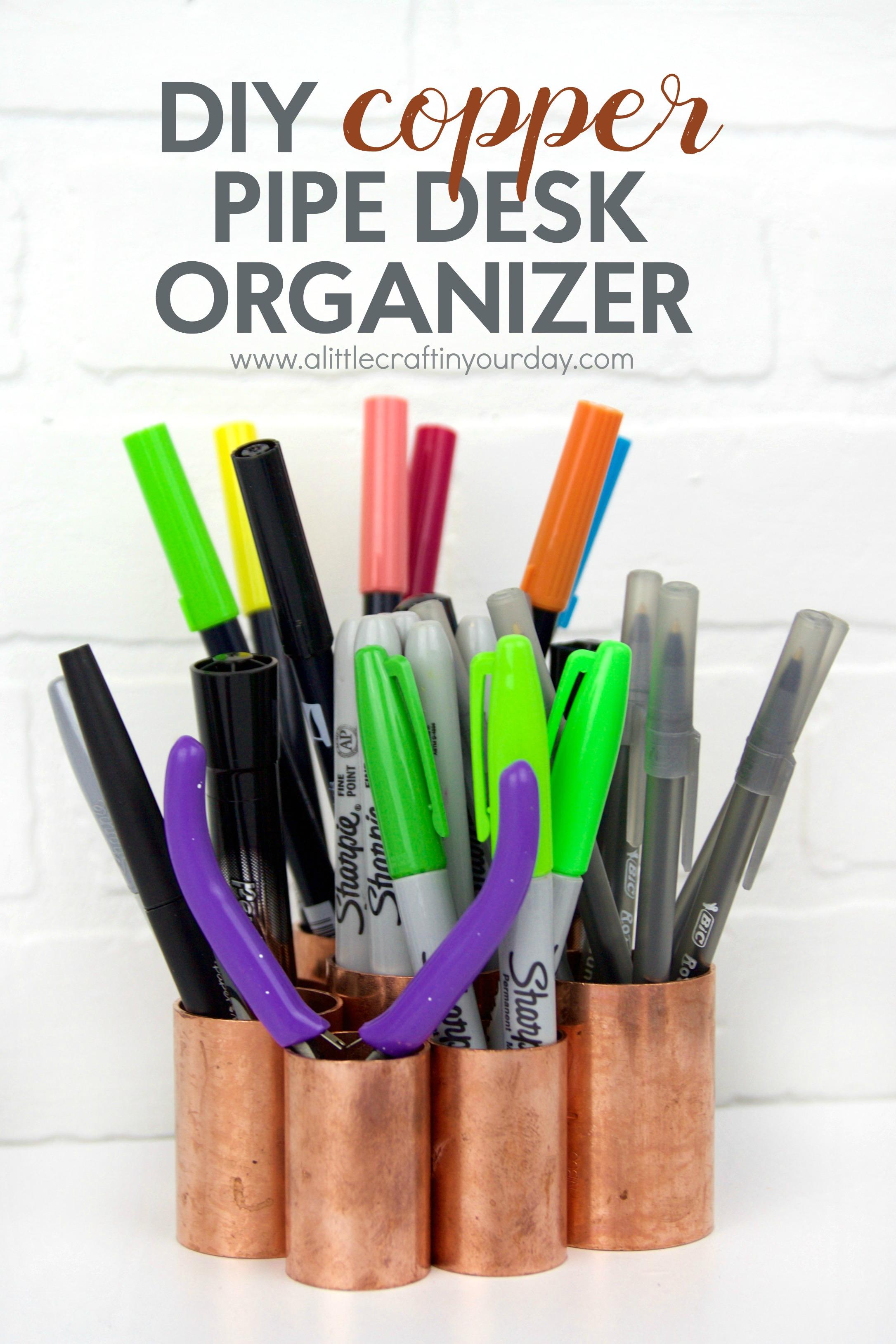 DIY_Copper_Pipe_DESK_Organizer