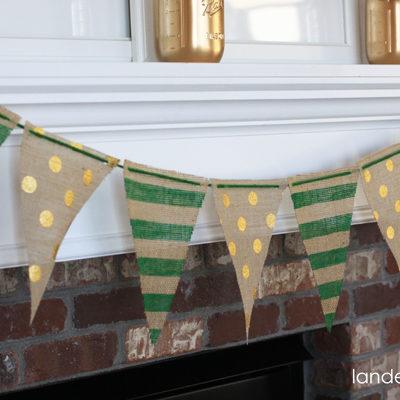 DIY St. Patrick's Day Banner thumbnail