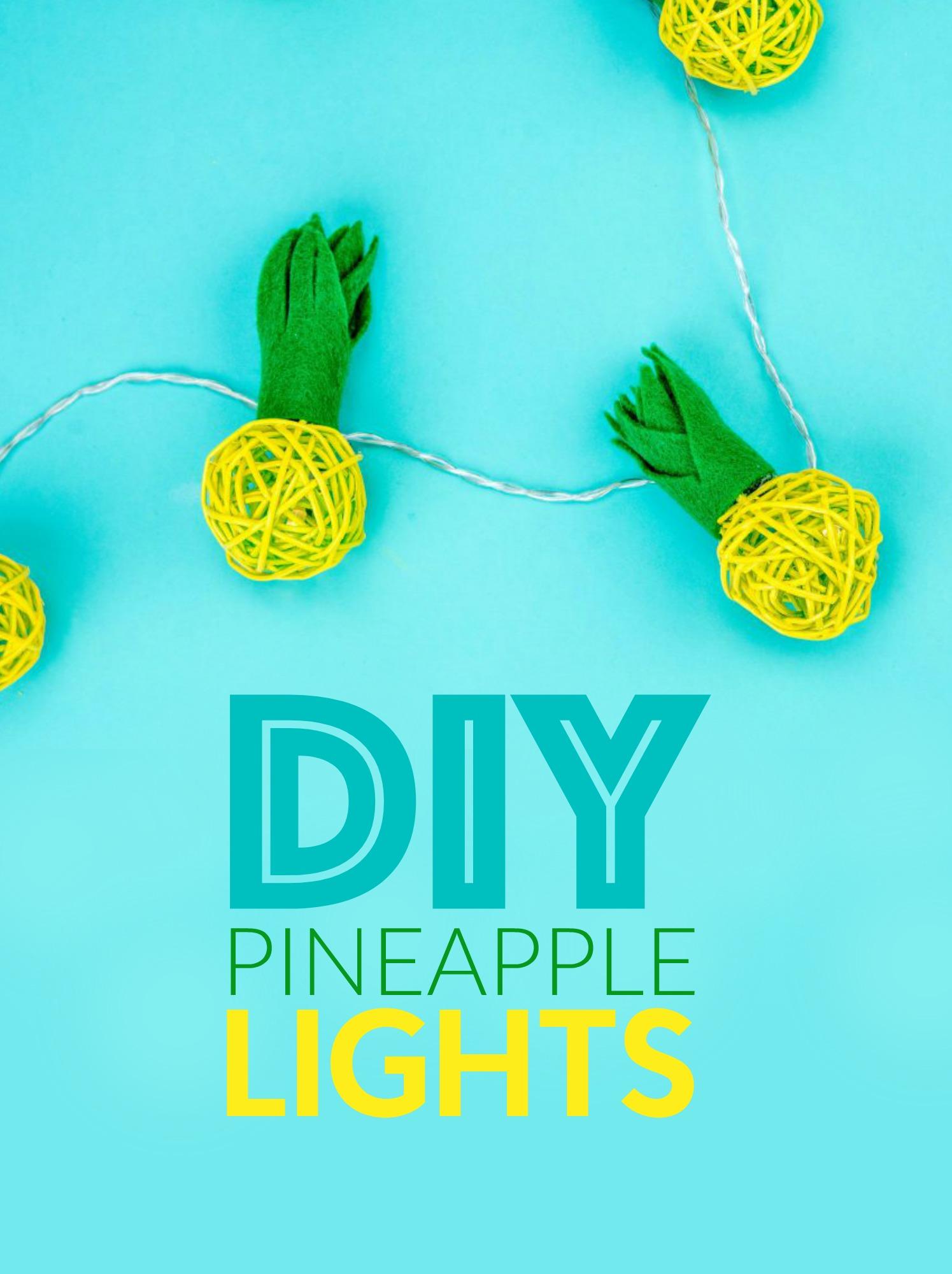 DIY_pineapple_lights
