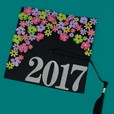 DIY Floral Graduation Cap thumbnail