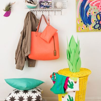 DIY Pineapple Laundry Basket thumbnail