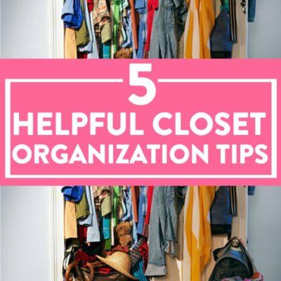5 Helpful Closet Organization Tips thumbnail