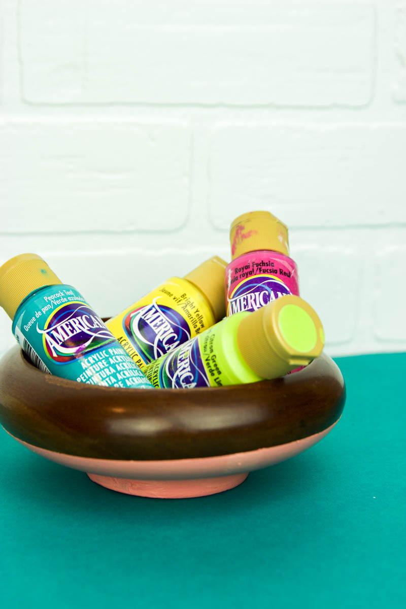 diy painted bowls, diy color blocked bowls, diy bowl ideas, diy painted bowl ideas
