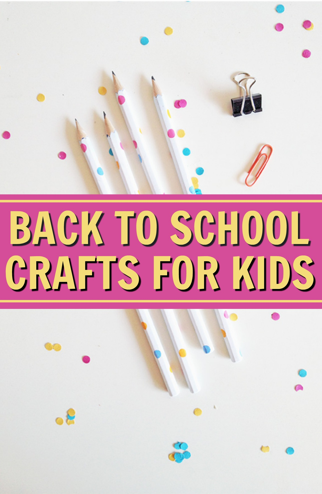 back to school, back to school kids crafts, back to school craft ideas for kids, back to school DIY, back to school projects