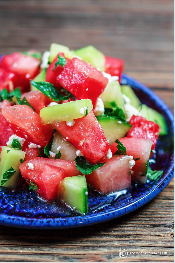 summer salad recipes, creative salad ideas