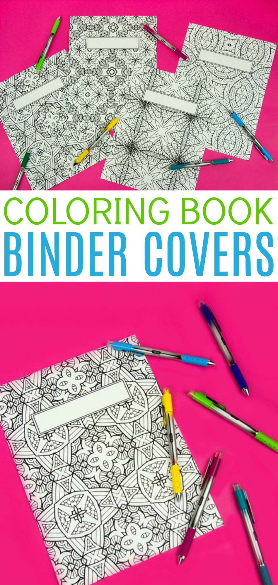 graphic relating to Printable Binder Covers Free known as Coloring Reserve Binder Addresses- Totally free Printable - A Small Craft