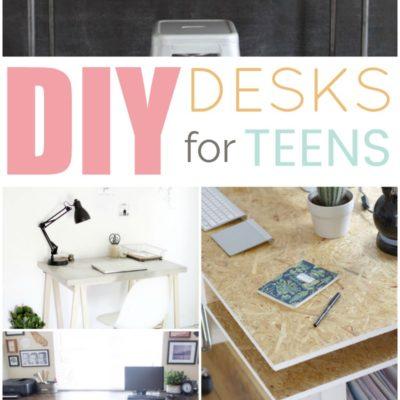 DIY Desk Ideas For Teens thumbnail