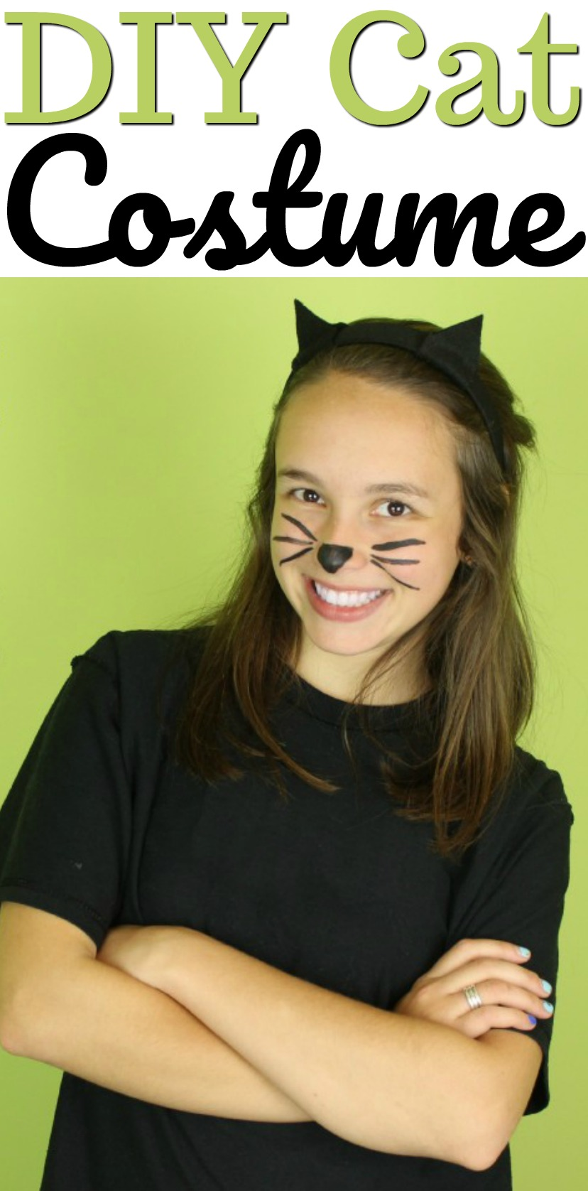 DIY Cat Costume - A Little Craft In Your Day