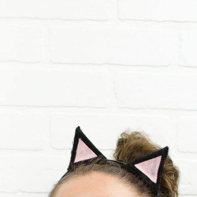 DIY Cat Ears- Last Minute Halloween Costume Idea thumbnail