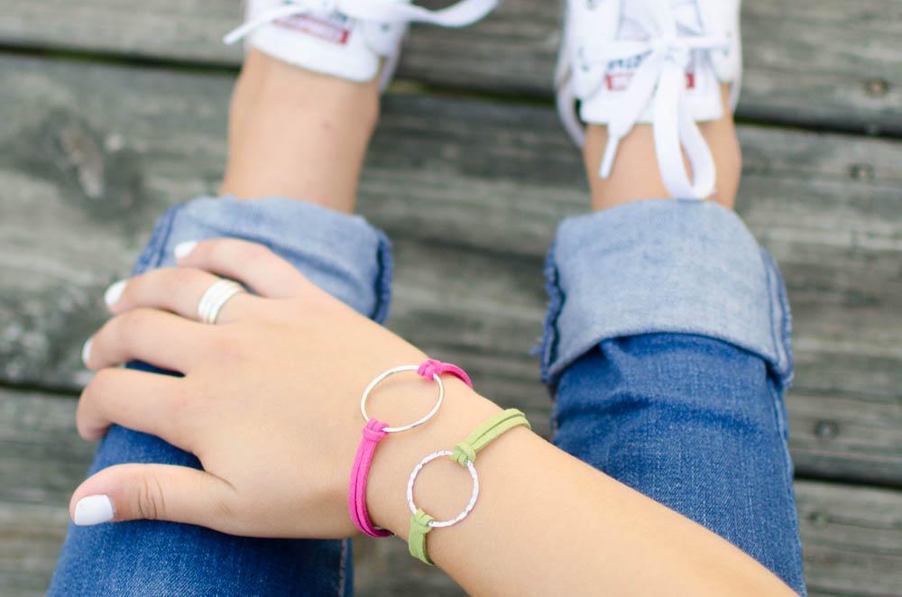 DIY bracelet, craft for teens