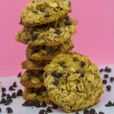 Chai Chocolate Oatmeal Cookies thumbnail