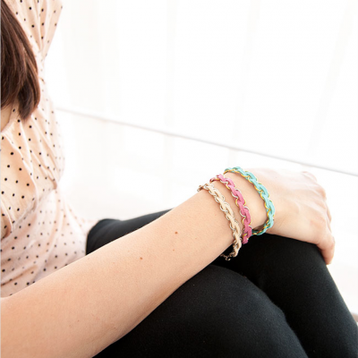 DIY Easy Braided Bracelets thumbnail