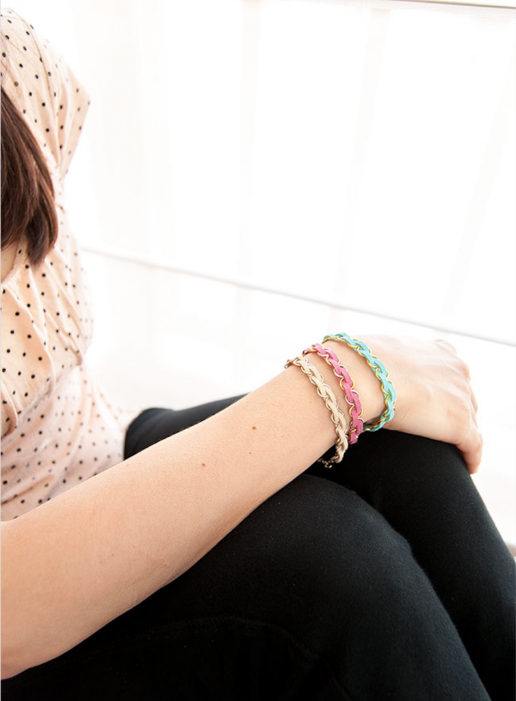Diy Easy Braided Bracelets A Little Craft In Your Day