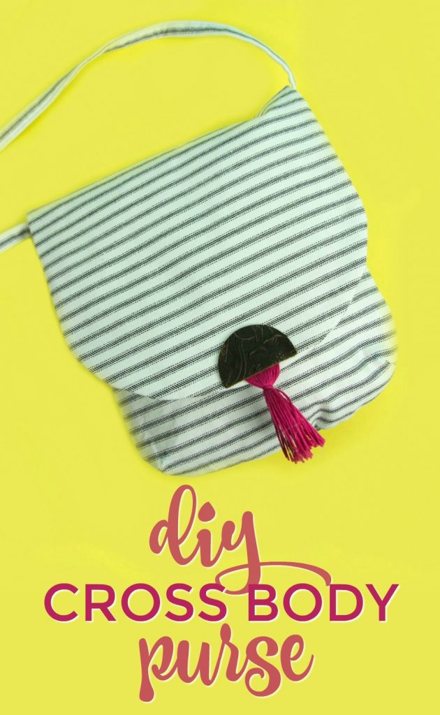 DIY Purse, How to sew, How to sew a purse, cricut maker sewing project