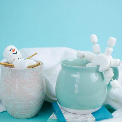 Marshmallow Snowman and Snowflake thumbnail