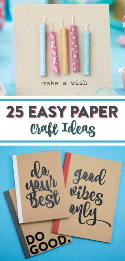 25 Easy Paper Craft Ideas , A Little Craft In Your Day