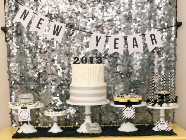 DIY New Years Party Decor