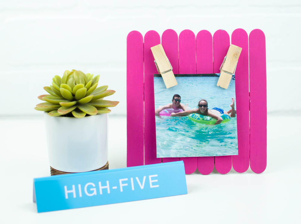Diy Photo Frame A Little Craft In Your Day