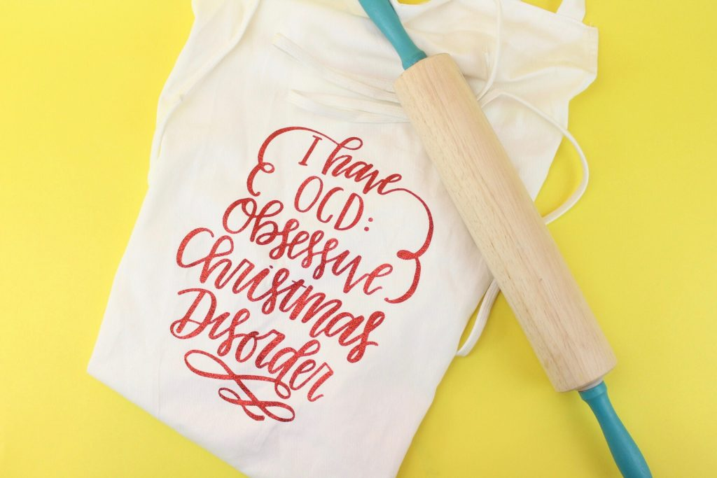 DIY Gift Idea - Holiday Apron