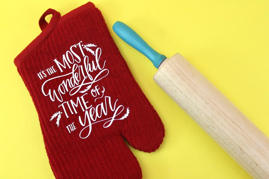 DIY Holiday Potholder - Cricut Christmas Gift Idea