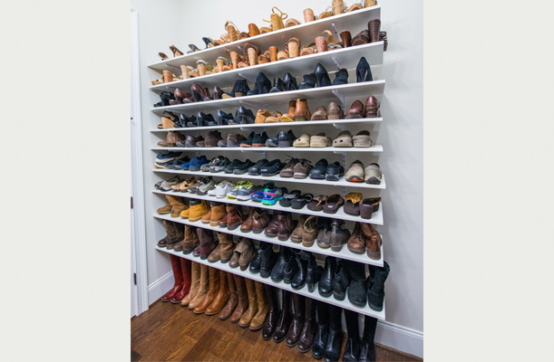 DIY Shoe Organization