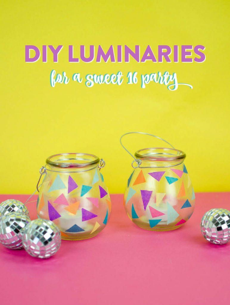 Easy DIY Party Decor