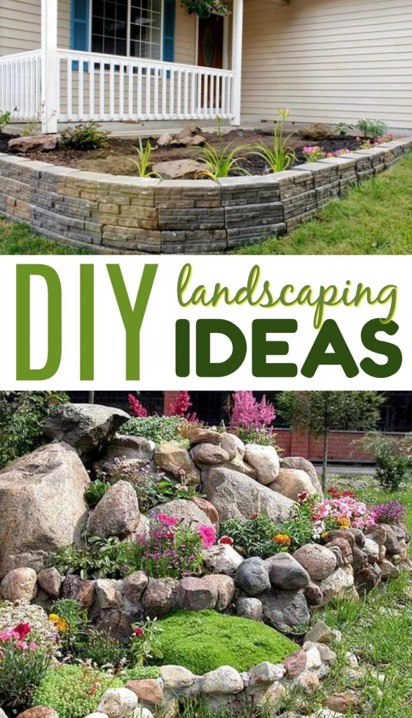 Diy Landscaping Ideas A Little Craft In Your Day