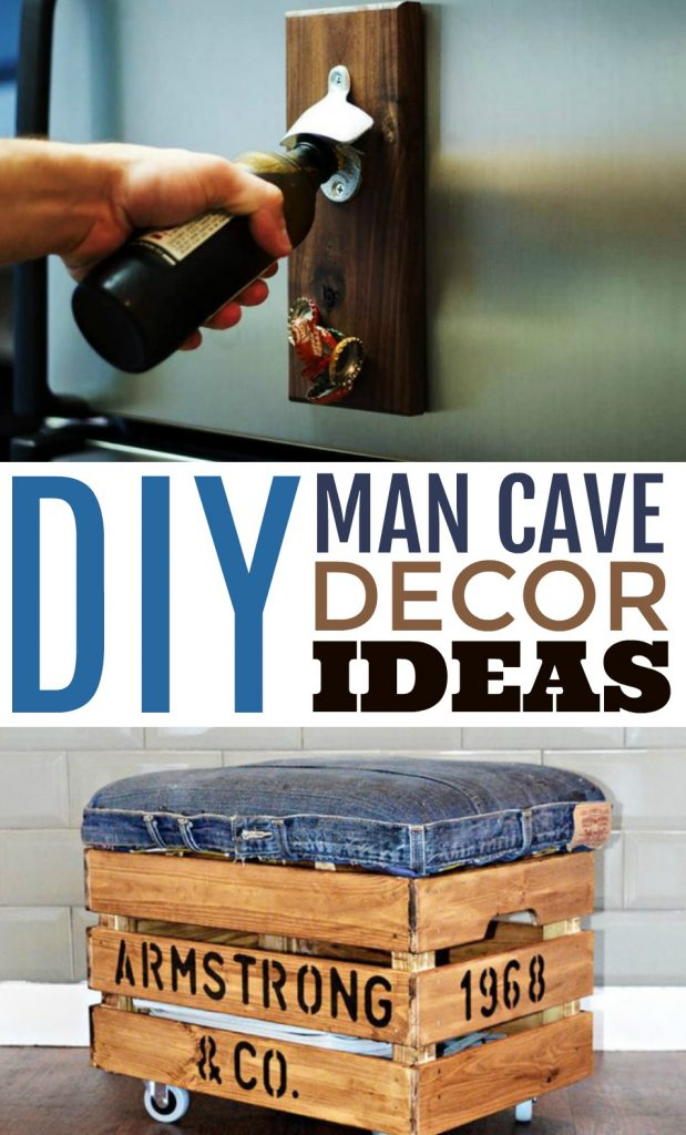 DIY Man Cave Decor Ideas - A Little Craft In Your Day
