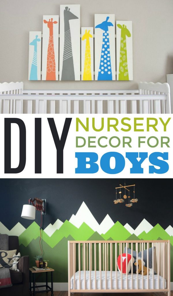 Simple Baby Boy Nursery Ideas: A Little Craft In Your Day