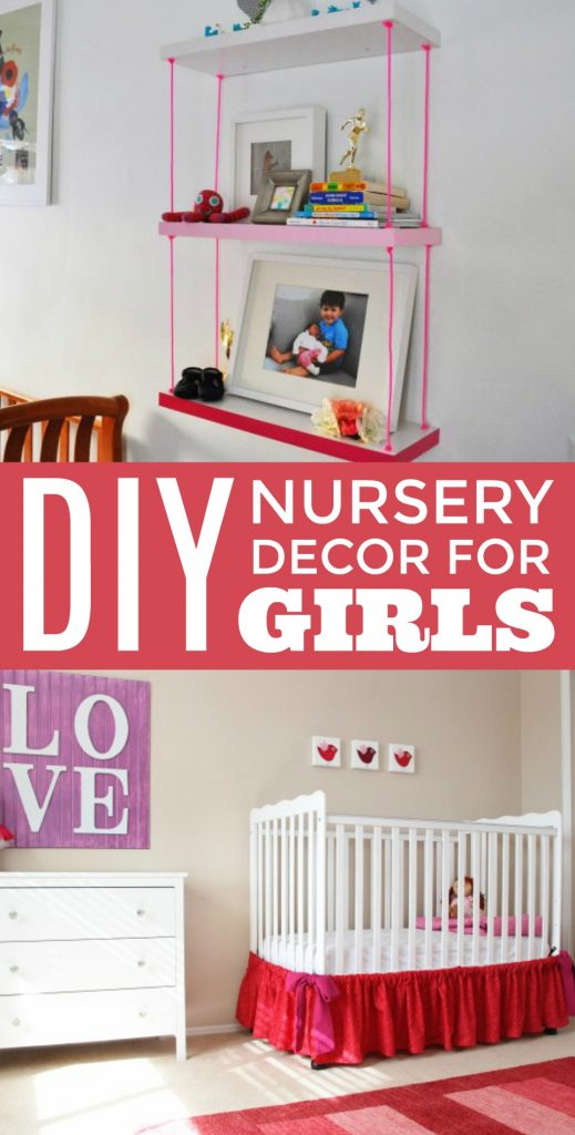 Diy Nursery Decor For Girls A Little Craft In Your Day