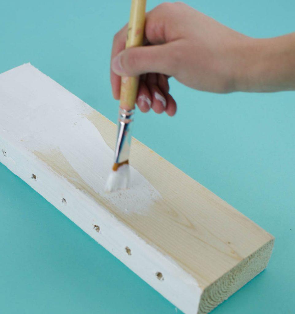 2x4 Project, DIY Desk Organization, DIY Pencil Holder