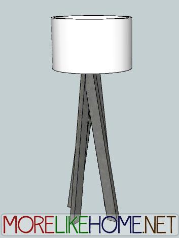 Funky Modern Lamp