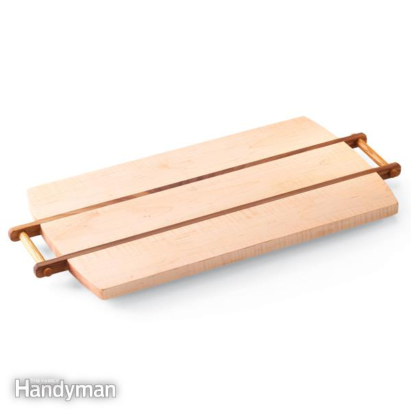 Wooden Chopping Board and Serving Tray