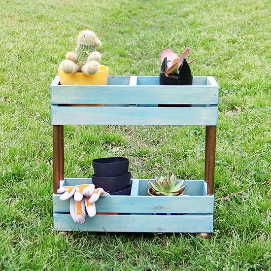 Tiered Garden Shelf
