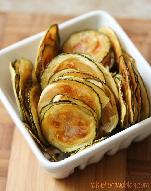 Easy Oven-Baked Zucchini Chips
