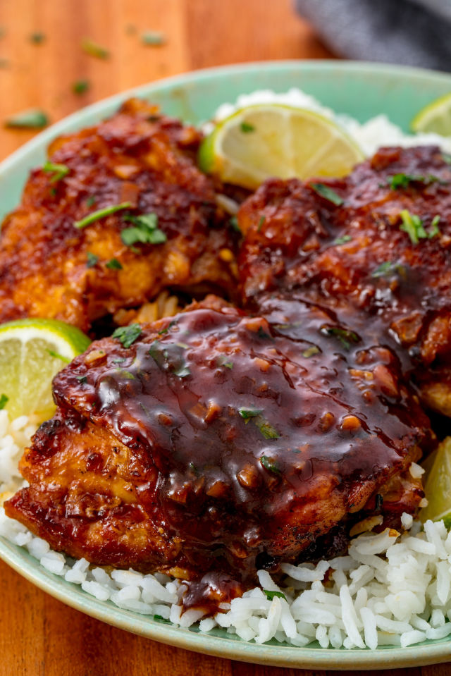 Slow Cooker Chicken Thighs